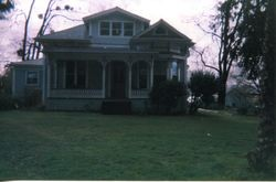 House that originally belonged to the Mary (Chandler), Charles Olcott and Melvin DaVall family in Sebastopol, California, about 2005