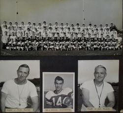 Analy High School football team photo of Analy Tigers 1952