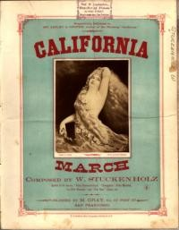 California march / composed by W. Stuckenholz
