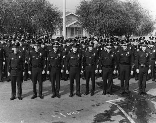 Los Angeles Police officers