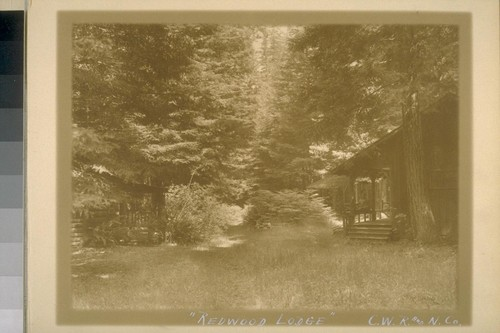 """Redwood Lodge"" - C.W.R. and N.Co"