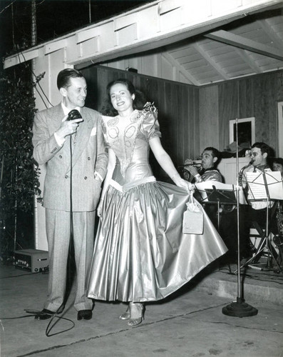 Court dance on the eve of the Malibu Remuda, 1947