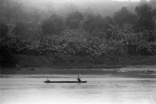 Fishing, La Chamba, Colombia, 1975
