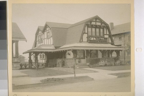 Unidentified residence, Berkeley, California