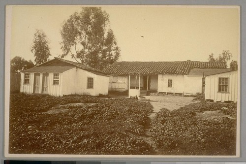 Old Adobe House, Santa Barbara, Cal. April 21st, 1884
