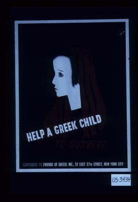Help a Greek child to survive