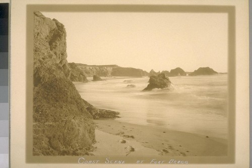 Coast Scene at Fort Bragg