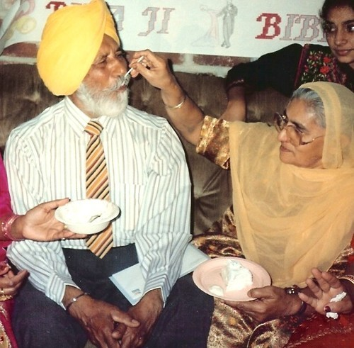 Hari Singh Everest and Wife, Old