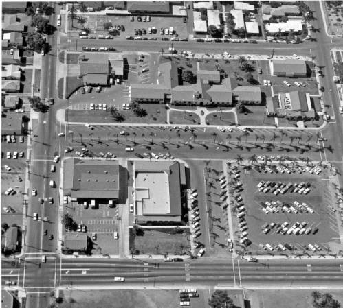 Calisphere: Aerial View of the Chula Vista Civic Center