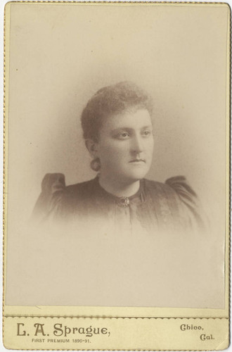 Portrait of Miss Emma Crew