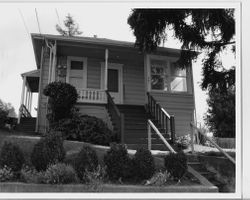 1900 Hip Roof Cottage House In The Coleman Sunnyside Addition At 541 Harrison Street Sebastopol California 1993 Calisphere