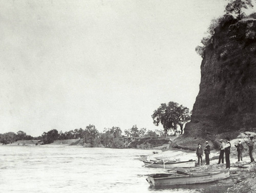 Small Boats on Sacramento River Shore
