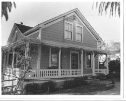 1890 Greek Revival house--the Borba House--in the Murphy Addition, at 218 Florence Avenue, Sebastopol, California, 1993