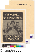 The Brotherhood Crusade presents a testimonial to the pioneers of Black political leadership