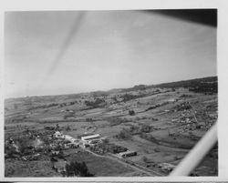 Aerial view of Graton in 1950