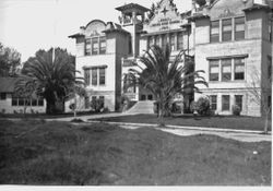 Sebastopol's Analy Union High School, about 1915