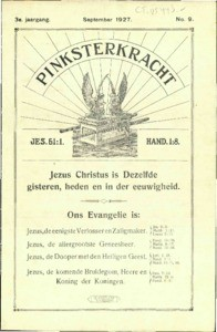 Pentecostal power : monthly for the glorifying of Jesus, vol. 03 (1927), no. 09
