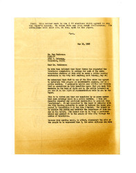 Letter from Frederick C. Dockweiler to Don Fedderson, May 16, 1952