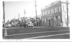 Main Street and Bodega Avenue, Sebastopol, September 1958