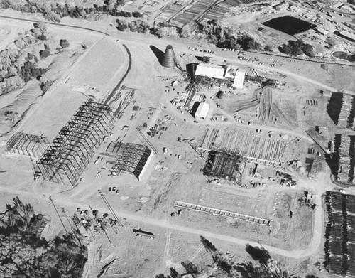 Aerial View of Louisiana Pacific Lumber Mill — Calisphere