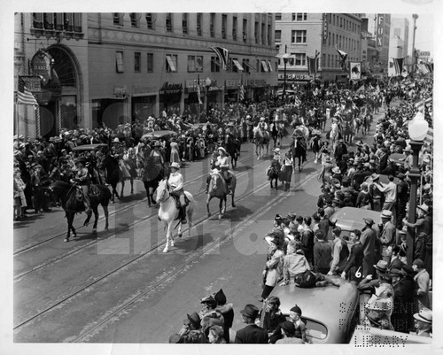 World's Fair Rodeo Parade