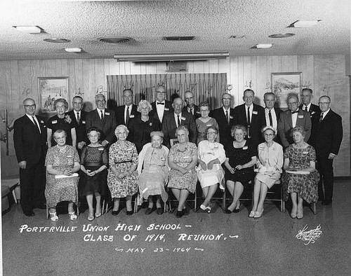 50 Year Reunion, High School in Porterville, Calif., 1964
