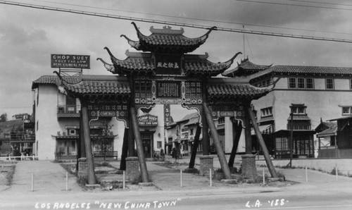 Gate in New Chinatown