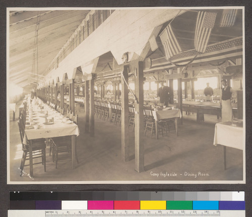 Camp Ingleside--Dining Room