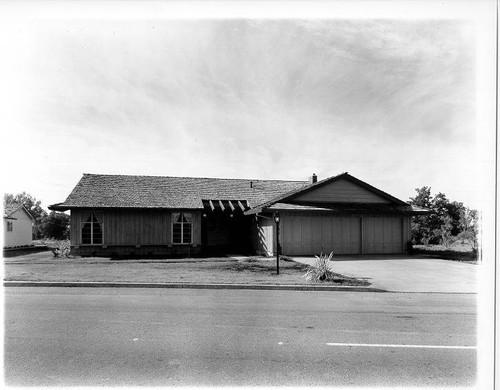 Model home at Wikiup, Santa Rosa, California, 1967