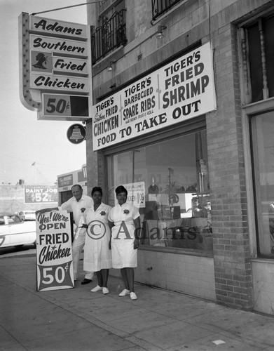 Adams Southern Fried Chicken, Los Angeles, 1962