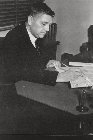 College President Batsell Baxter, late 1930s