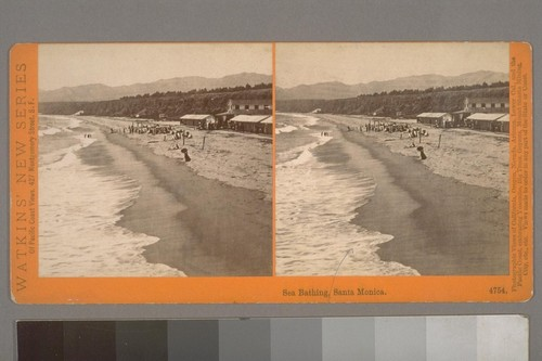 Sea Bathing, Santa Monica