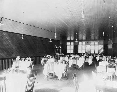 Dining room, Mount Lowe