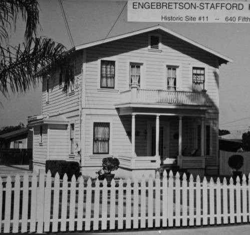 Early View of the Engebretson-Stafford House