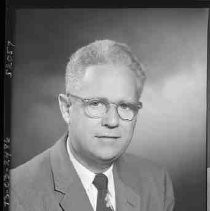 Portrait of consulting engineer Leroy F. Greene