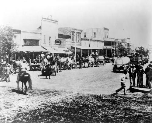 Calisphere Whiskey Row In Coalinga