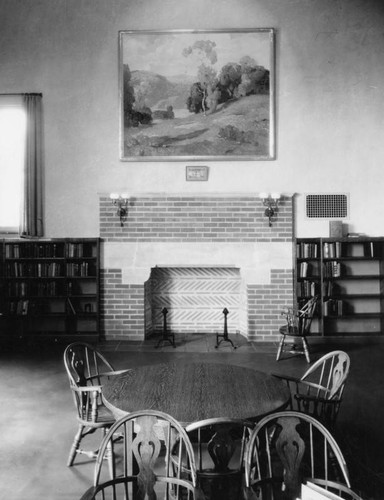 Reading room, Felipe de Neve Branch Library