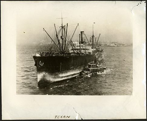 "[Steel, twin-screw steamer ""Texan""]"