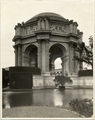 [Dome, Hedge, and Lagoon, Palace of Fine Arts]