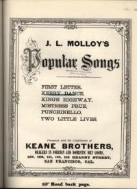 The Kerry dance / words and music by J. L. Molloy
