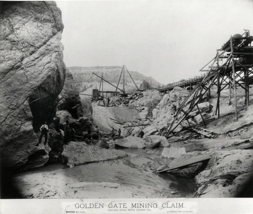 Golden Gate and Feather River Mine