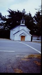Church of Christ building in Forestville, California