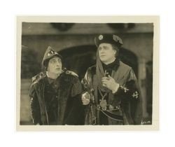 If I Were King: film still of William Farnum and an actor, 1920
