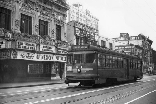 Los Angeles Pacific Electric car