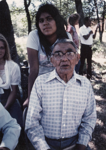Seymour Smith at the Greenville Bear Dance--1981
