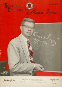 Southern California alumni review, vol. 40, no. 3 (1958 Dec.)