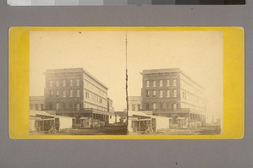 St. George's Hotel, Sacramento.--Photographer: E. & H. T. Anthony & Co.--Photographer's Number: 75--Place of Publication: New York.--Photographer's Series: California Views