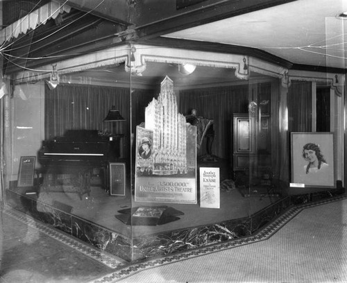 United Artists Theater exhibit