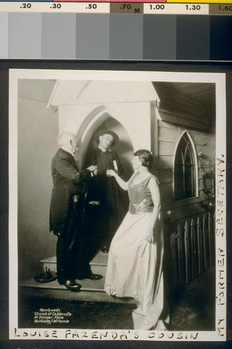 Newlyweds, Church of Celarville at Pioneer Place, Berkeley, California