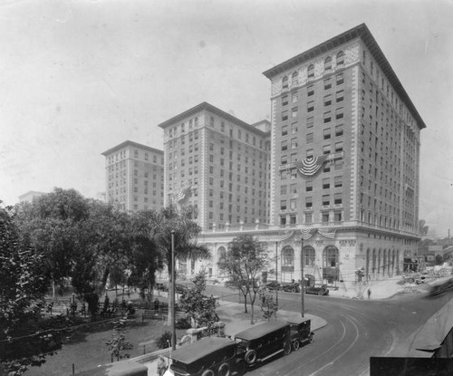 Biltmore across from Pershing Square